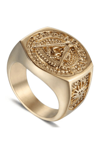 Prime Jewelry - Gold Pyra G Ring
