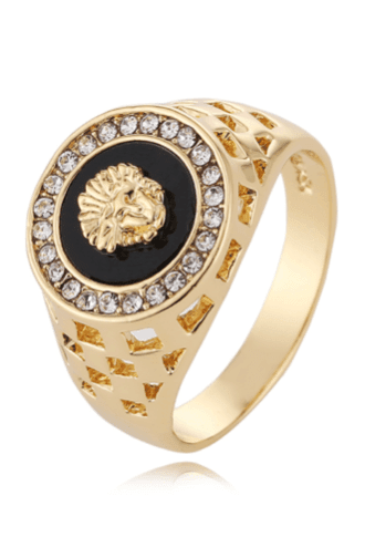 Prime Jewelry - Golden Medusa Ring