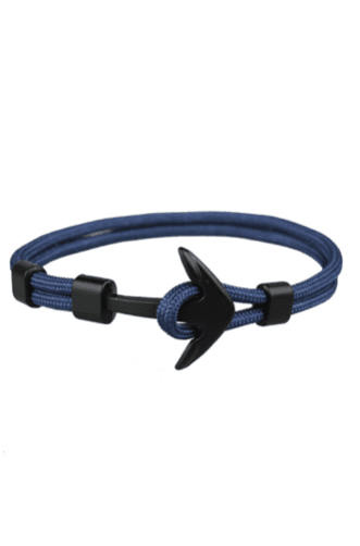 Prime Jewelry - York Blue Anchor Bracelet