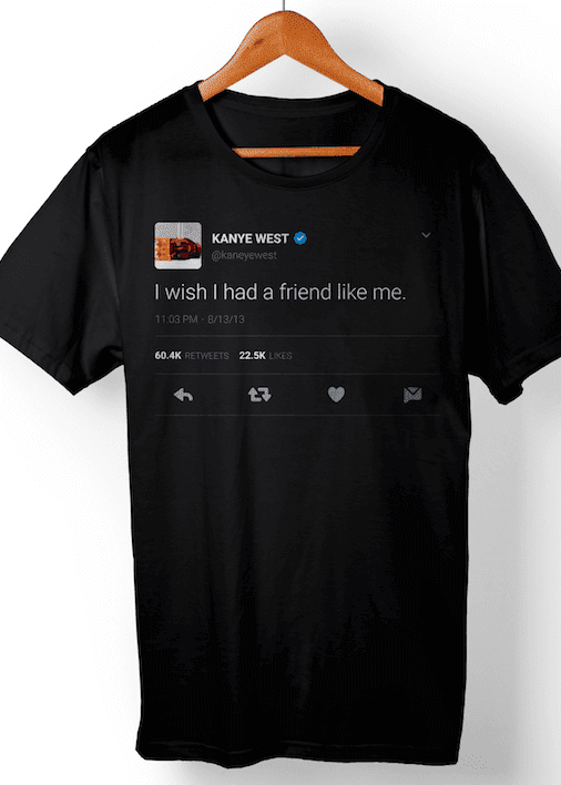 I wish I had a friend like me - black