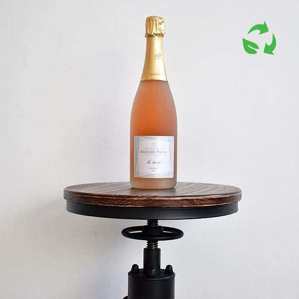 Champagne Le Rose Brut - Allouchery Perseval - FRANCE