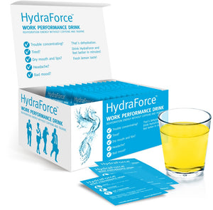 New HydraForce Work Performance Drink -solution for businesses