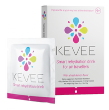 6x KEVEE Travel Recovery Drink