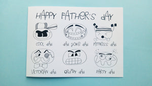 Father's Day - Emoji Dad