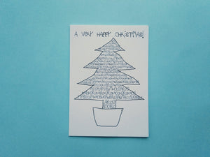 Sweary Christmas Tree - A Very Happy Christmas