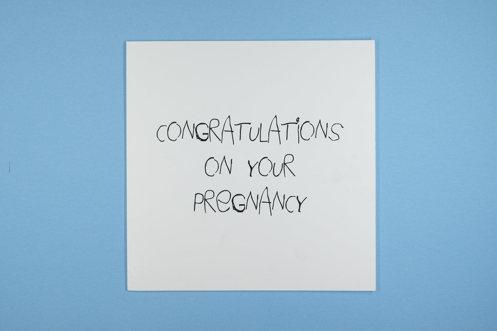 Pregnancy Congratulations I Hope It's Not Ginger