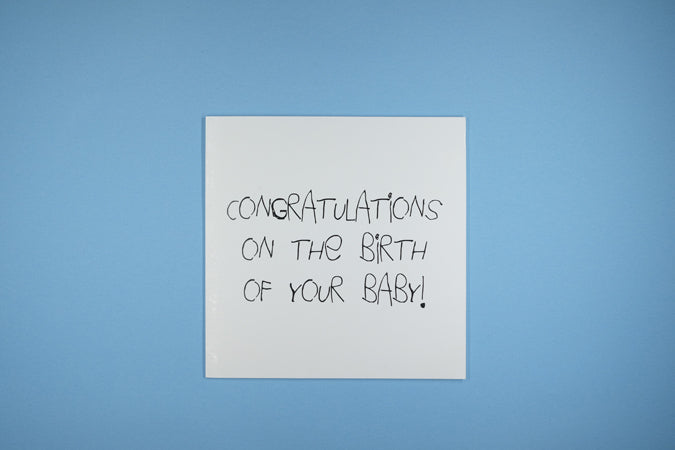 Congratulations On Birth Of Baby Vagina