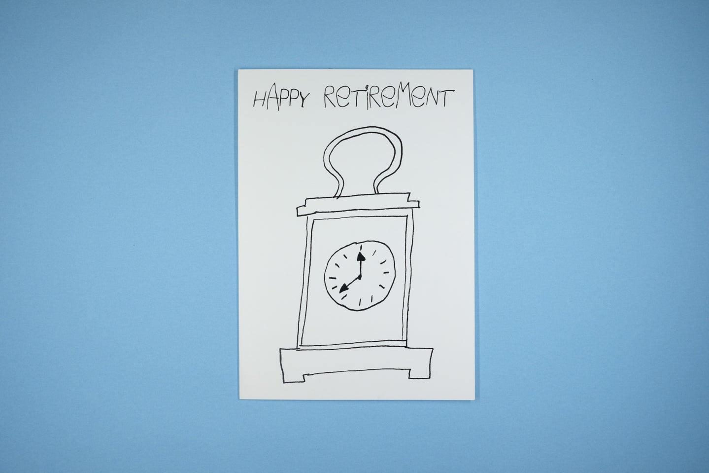Happy Retirement Tick Tock Tick Tock