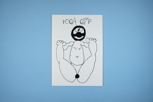 Blank Occasion Card Yoga Gimp