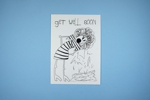 Get Well Soon Sick Bitch