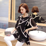 Short Sleeve loose Blouse
