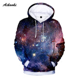 Space Galaxy 3D Hoodies