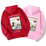 Law of Nature Japanese Hoodies