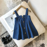 baby girls clothes set Plaid Skirt Fashion Elastic Waist set