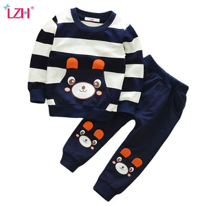 Children Clothing For Boys Sport Suit 2019 Autumn Winter Boys Clothes Kids Christmas Outfit Toddler Boy Clothing Sets 2 3 4 Year