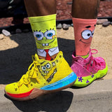 Cartoon Print Socks