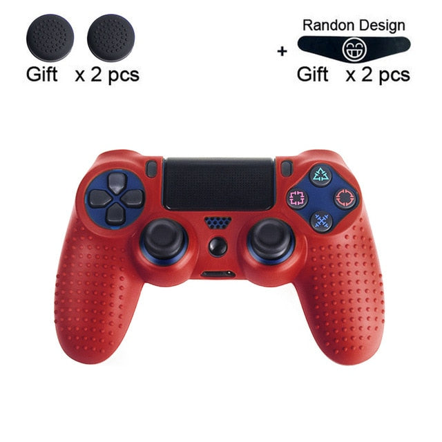 Anti-Slip Silicone Case Protective Case For PS4