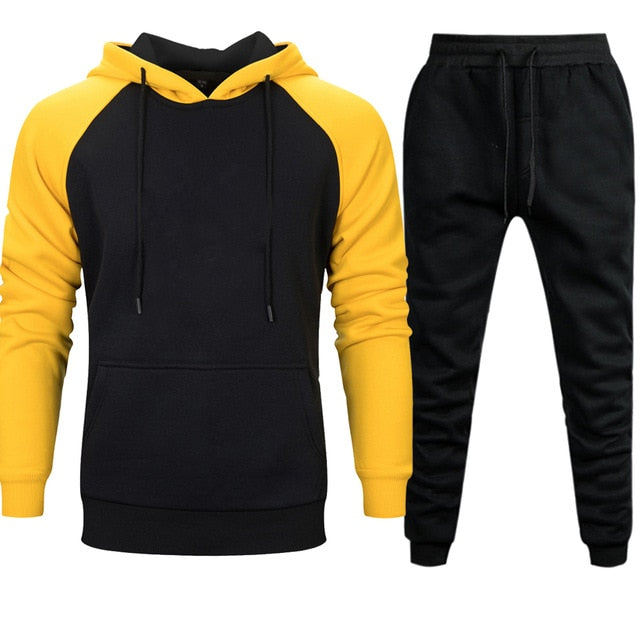Mens Sets Hoodies Pants 2 Pieces Tracksuit Dragon Ball
