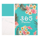Flower A4 Agendas Schedule Notebook