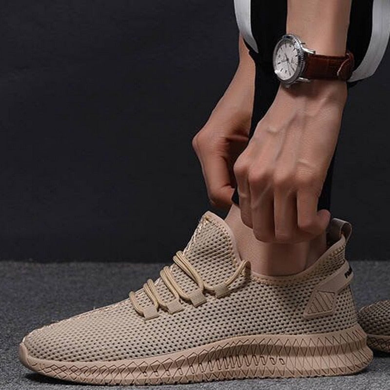 Sneakers Flat Breathable Mesh