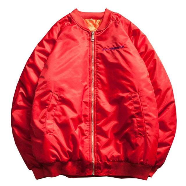 MA-1 Bomber Embroidery Jacket