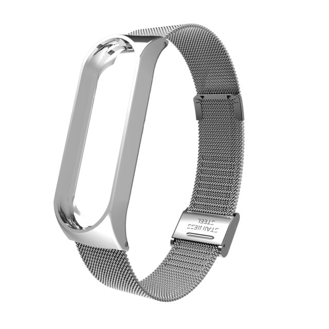 Metal Strap For Mi Band 5,4,3  Band