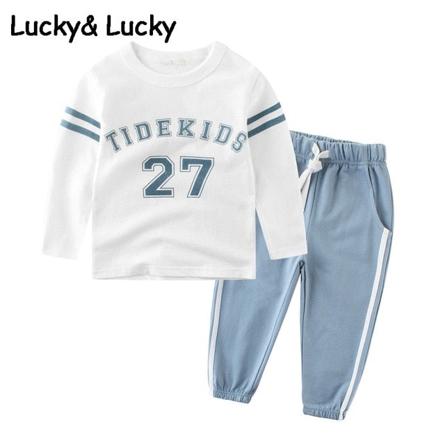 Tracksuit for boys children clothing kids clothes sports suit for boys Set