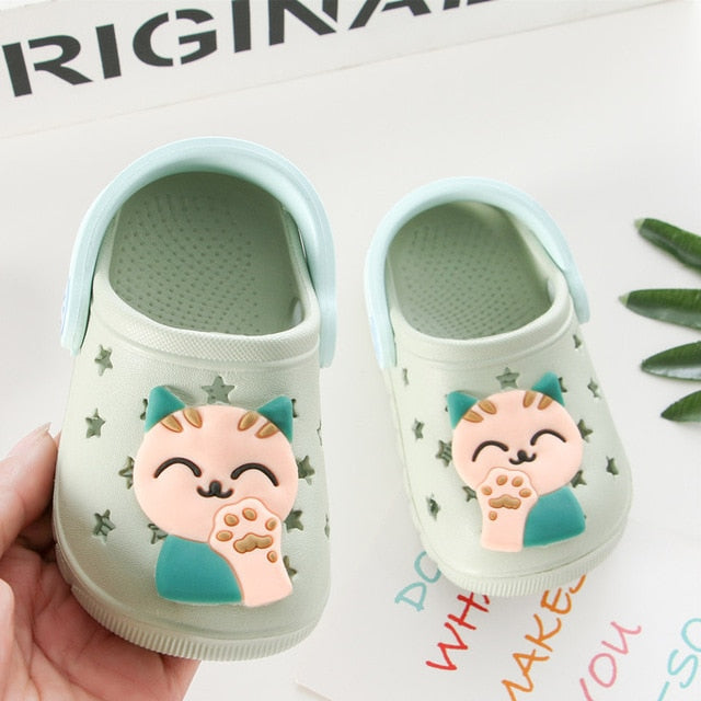 Cute Cat Baby Slippers