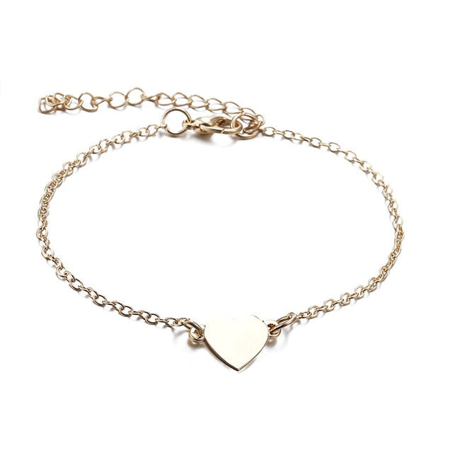 New Heart Female Anklets