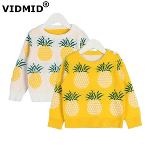 Pineapple Knitted Sweaters