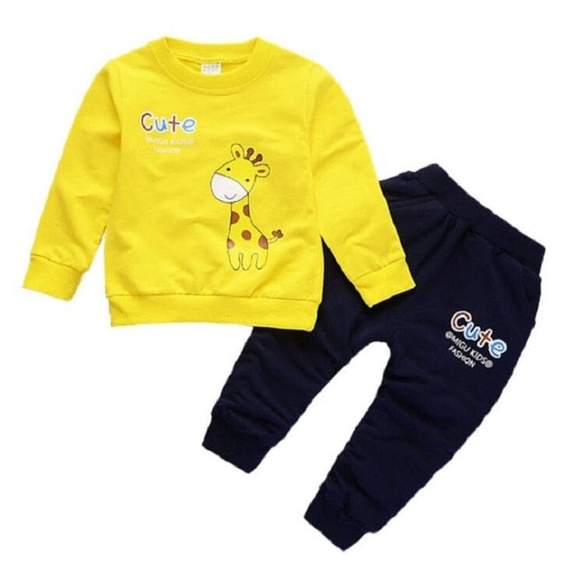 New Boys Clothing Sets Spring Autumn Baby Kids Sets Cotton Star Boy Tracksuits Kids Suits Long Sleeve T Shirt+Pants
