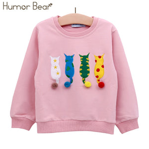 Long-sleeve Cartoon T-shirt