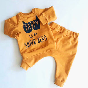 Baby Boys  Clothing Daddy Batman Superhero Outfit
