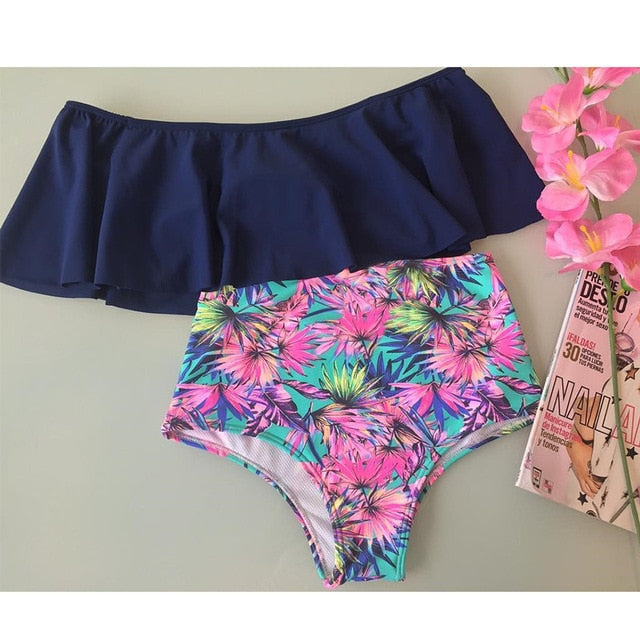 High Waist Bikini Swimwear