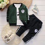 Children's clothing Jacket t-shirt and pants 3 pieces