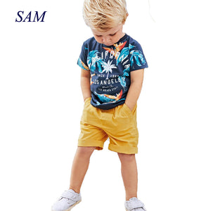 Baby Boys Summer Set T shirt+short