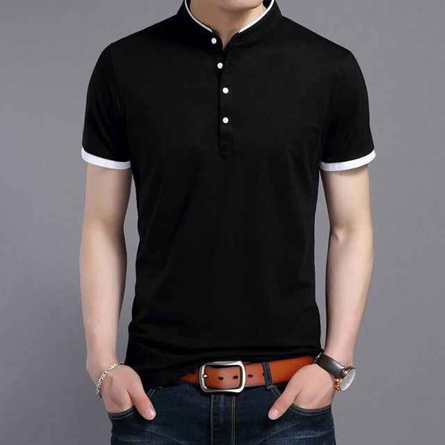 New Summer Polo Shirt for Men - Slim fit