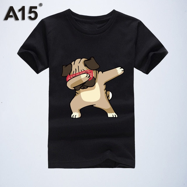 Cartoon 3d Print T-shirt