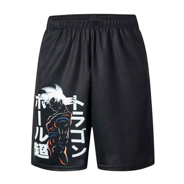 Dragon Ball Loose Sport Shorts for Men - Hot Sale