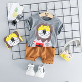 2pcs/Set Baby Clothing Set for Summer T-shirt + Shorts