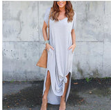 Casual Short Sleeve Summer Dress