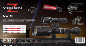 NV-103 3 in 1 Night vision Ir light kit.
