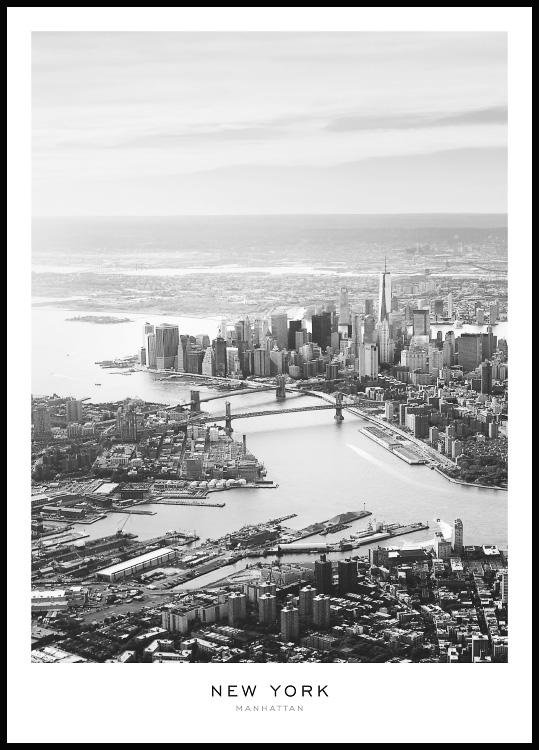 New York Manhattan Poster
