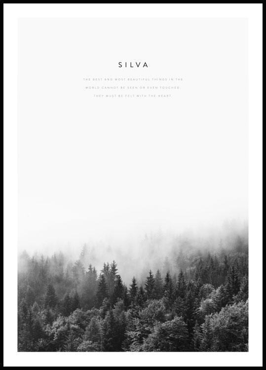Forest Poster with quote