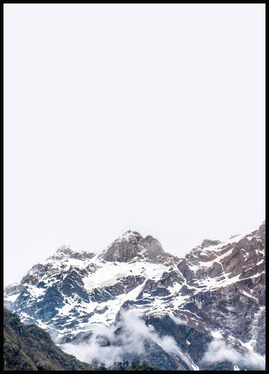 mountain nature poster