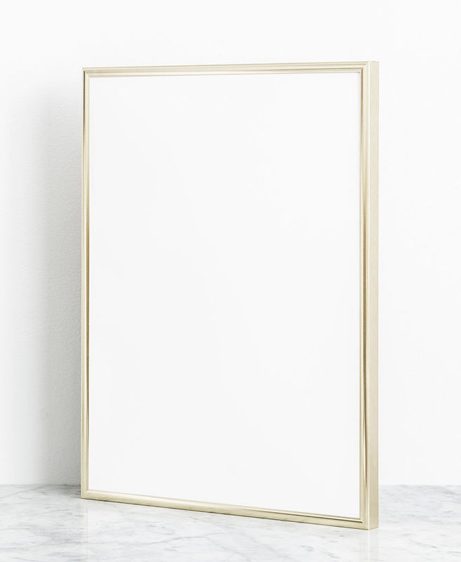 stylish gold picture frame 30x40 cm
