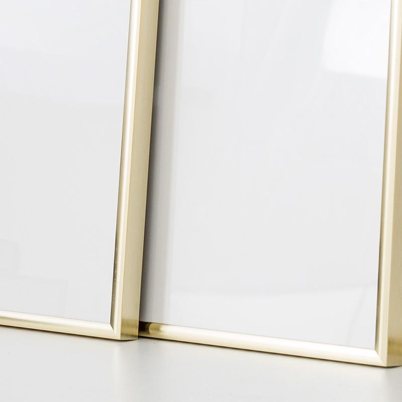 stylish 50x70 cm gold picture frame