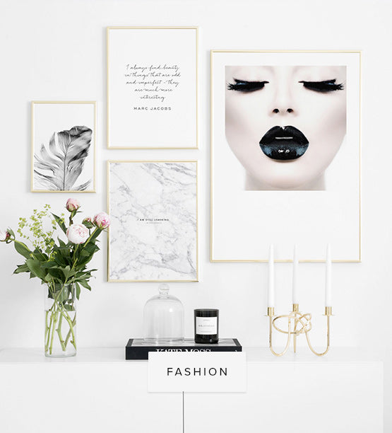 Fashion posters och prints