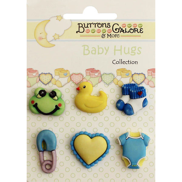 Baby Hugs Buttons-Little Baby Boy