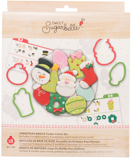 Sweet Sugarbelle Cookie Cutter Set 8/Pkg-Christmas